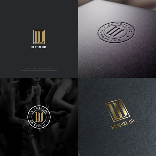 Do Work, Inc. -- Logo development for fitness and corporate lifestyle brand that attracts the best of the best.