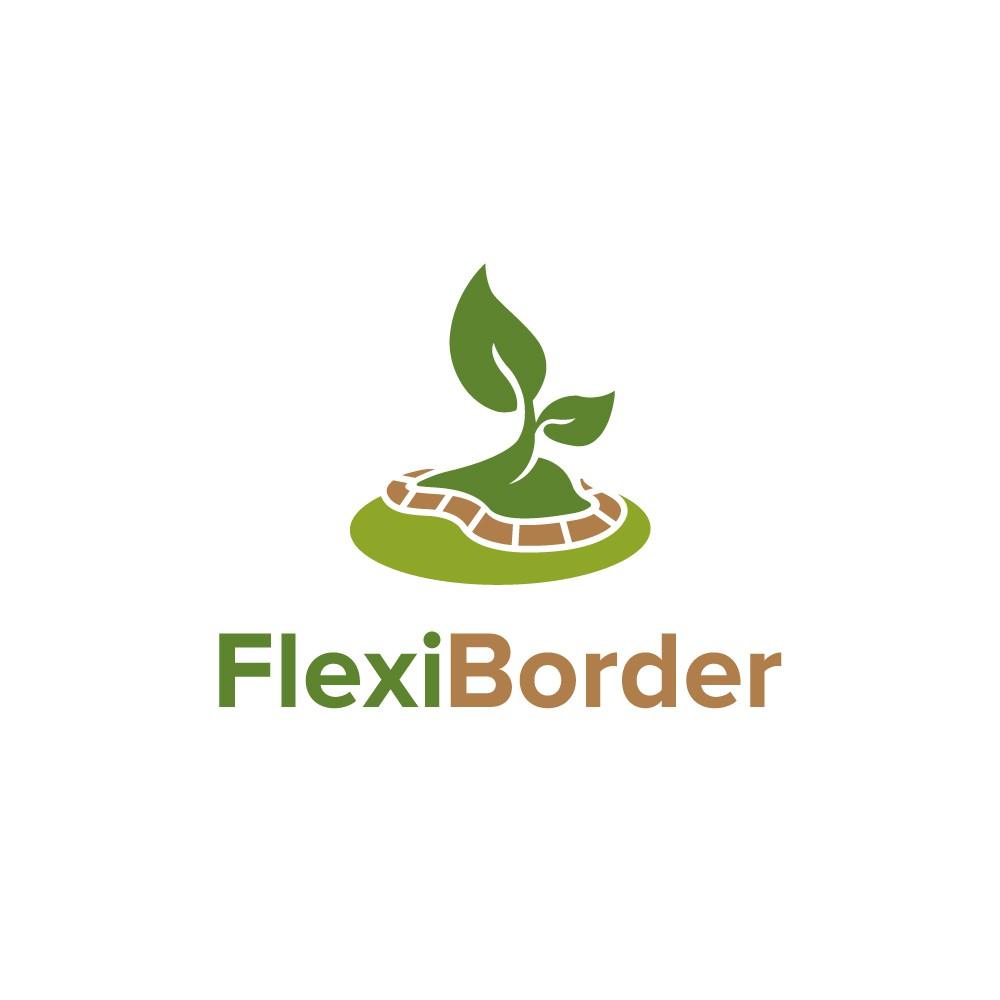 Fresh logo for a new eco-friendly garden border