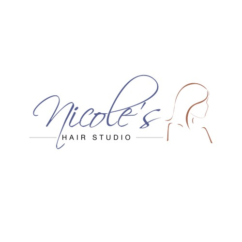 Logo for hair salon
