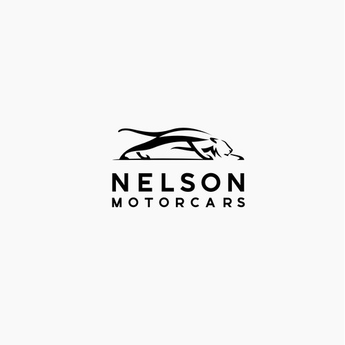 Bold and modern logo for car renting and selling company