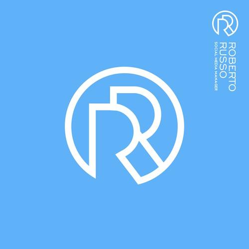 Monogram RR logo | Initials logo | Personal Logo | Robert Russo