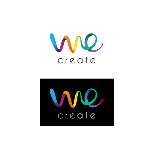 Logo concept for 'We Create'