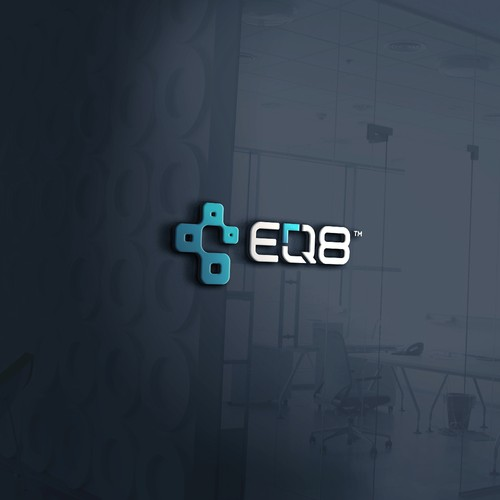 EQ8 Logo Design