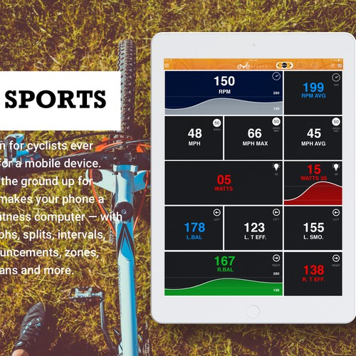 Eve Sports Bicycle app