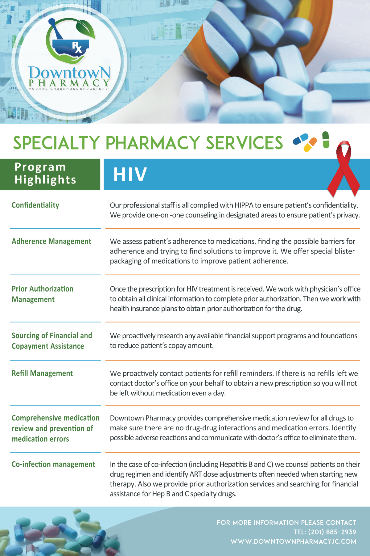 Brochure-Sell Sheet for HIV