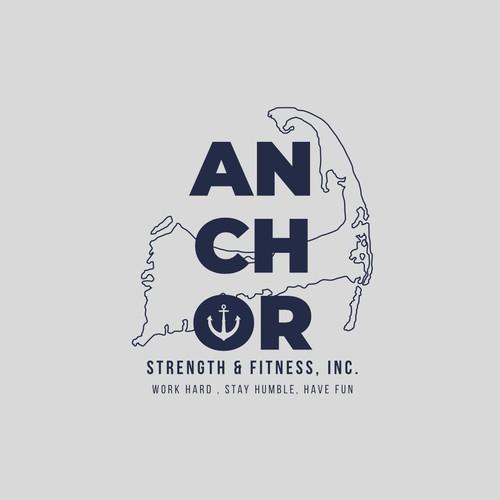 Logo for a fitness gym