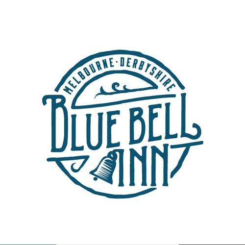 Logo for traditional english pub
