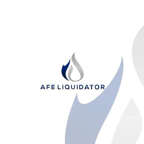 AFE Liquidator logo design
