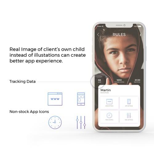 Parental App Cpncept