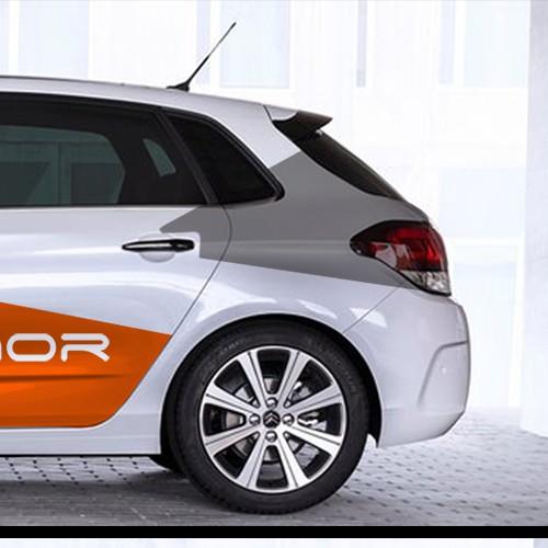 Car Wrap for robotics company