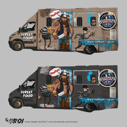 Slammers Street Food Van