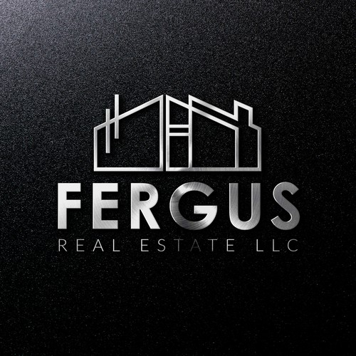 Winning design for Fergus Real Estate LLC.