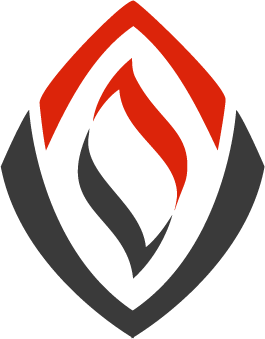 Cool logo for a company that does service for fire departments(smoke diver equipment)