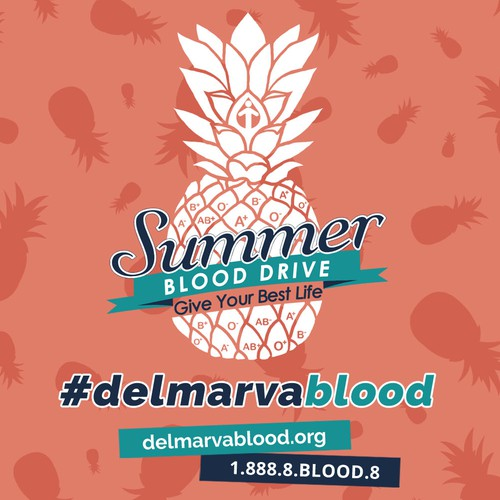Summer Blood Drive Social Media Pack