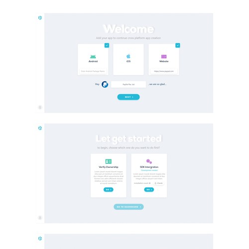 Design Web Application for The AI-Based Engagement Service