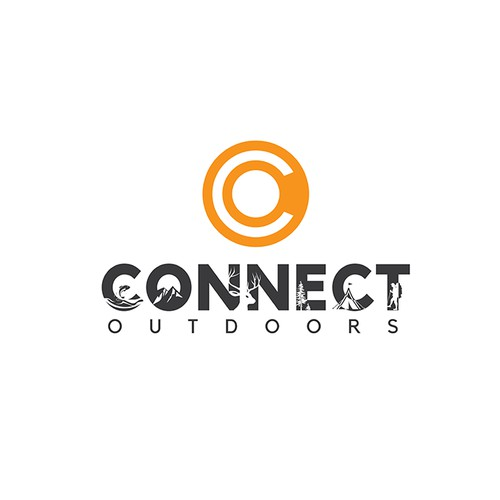 Logo for an Outdoor Recreational ecommerce marketplace