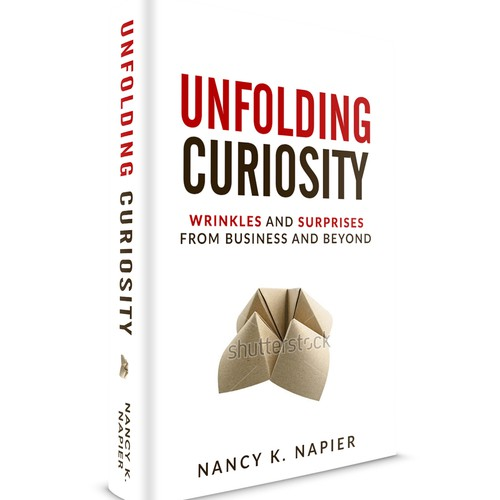 Book cover for business book.