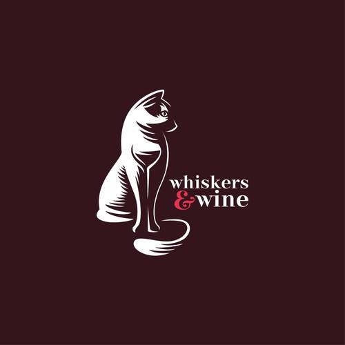 Cat with a hidden wine :-p