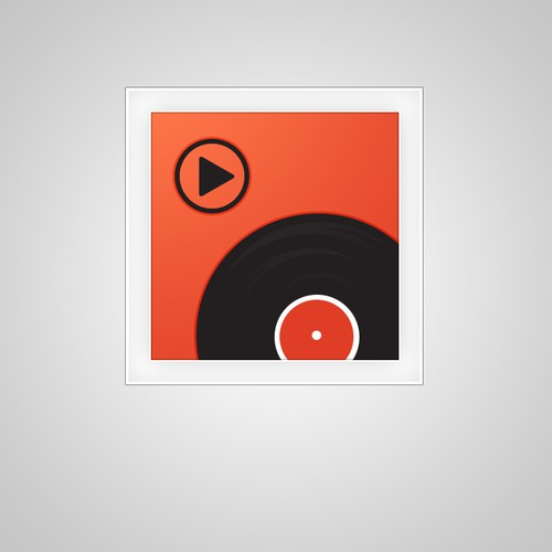Create a winning icon design for Years Music Player