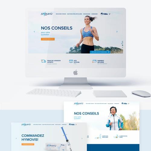 Hymovis Website