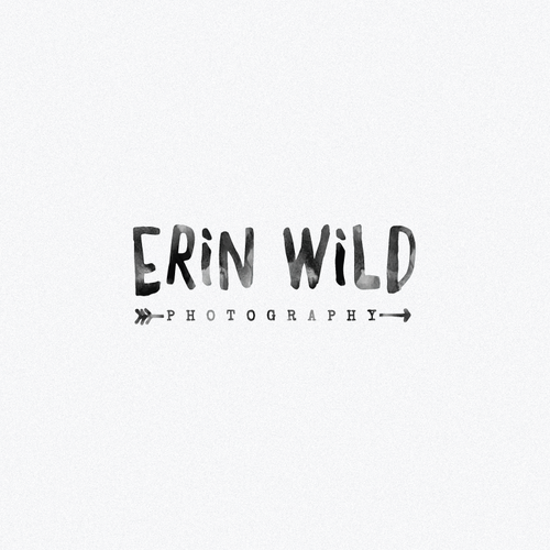logo design for the Erin Wild photography
