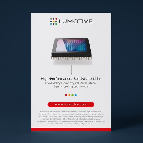 Print ad for Lumotive [Red Version]