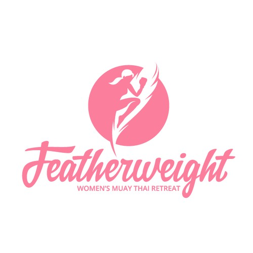 Logo for a women's Muay Thai retreat in Thailand.