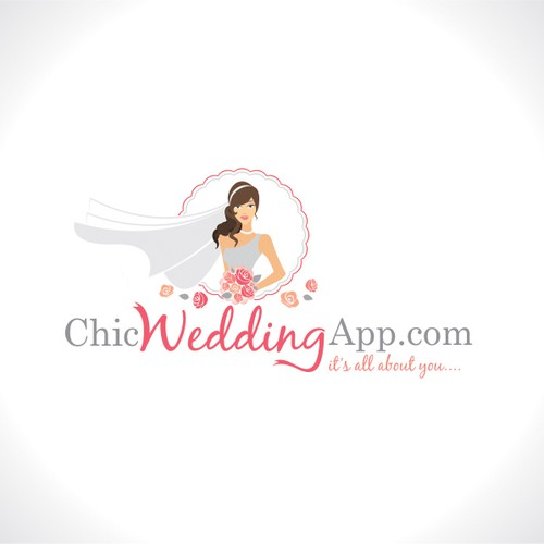 Chic Wedding App.com  needs a new logo