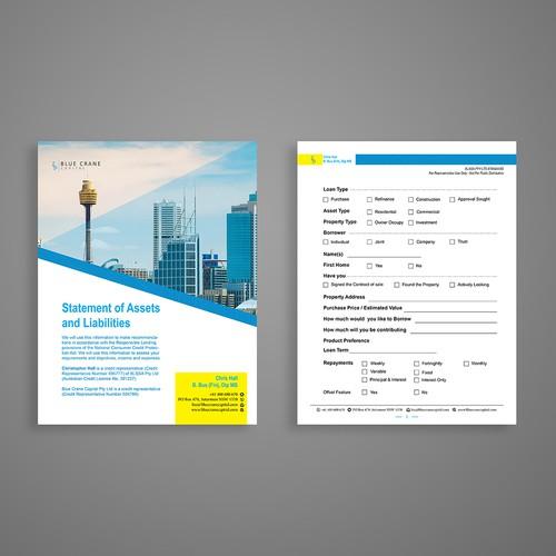 PDF file template