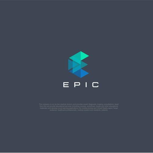 Design an epic logo for EPIC