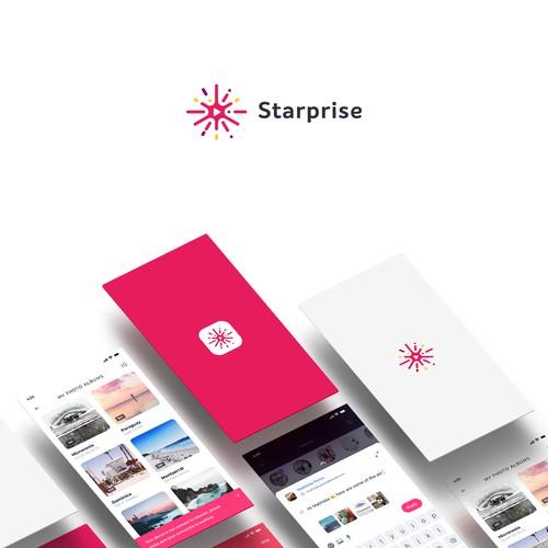 Logo concept for Starprise App