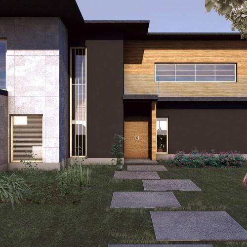 House design facade