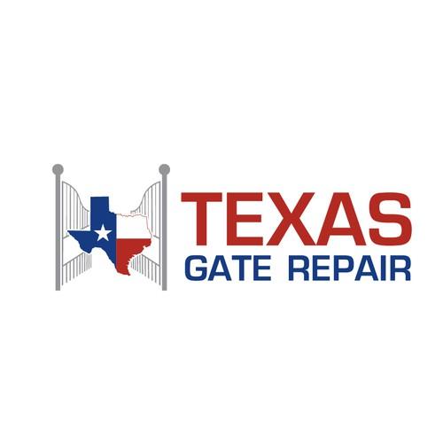 gate repair company logo