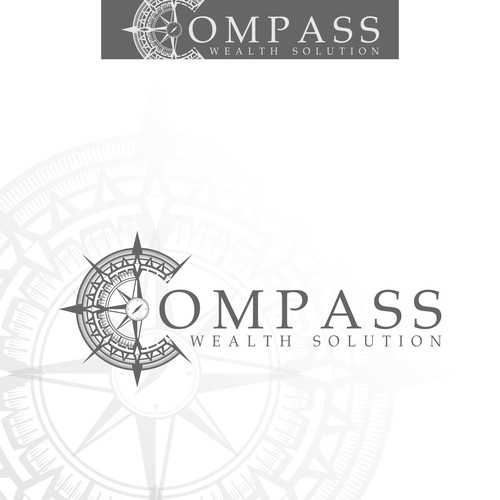 logo concept for Compass Wealth Solutions
