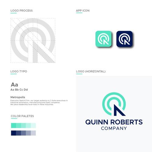 Q/ QR logo