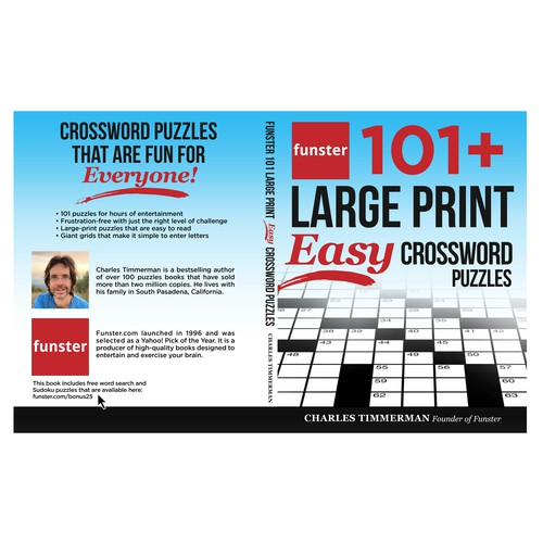 101+ LARGE PRINT EASY CROSSWORD PUZZLES