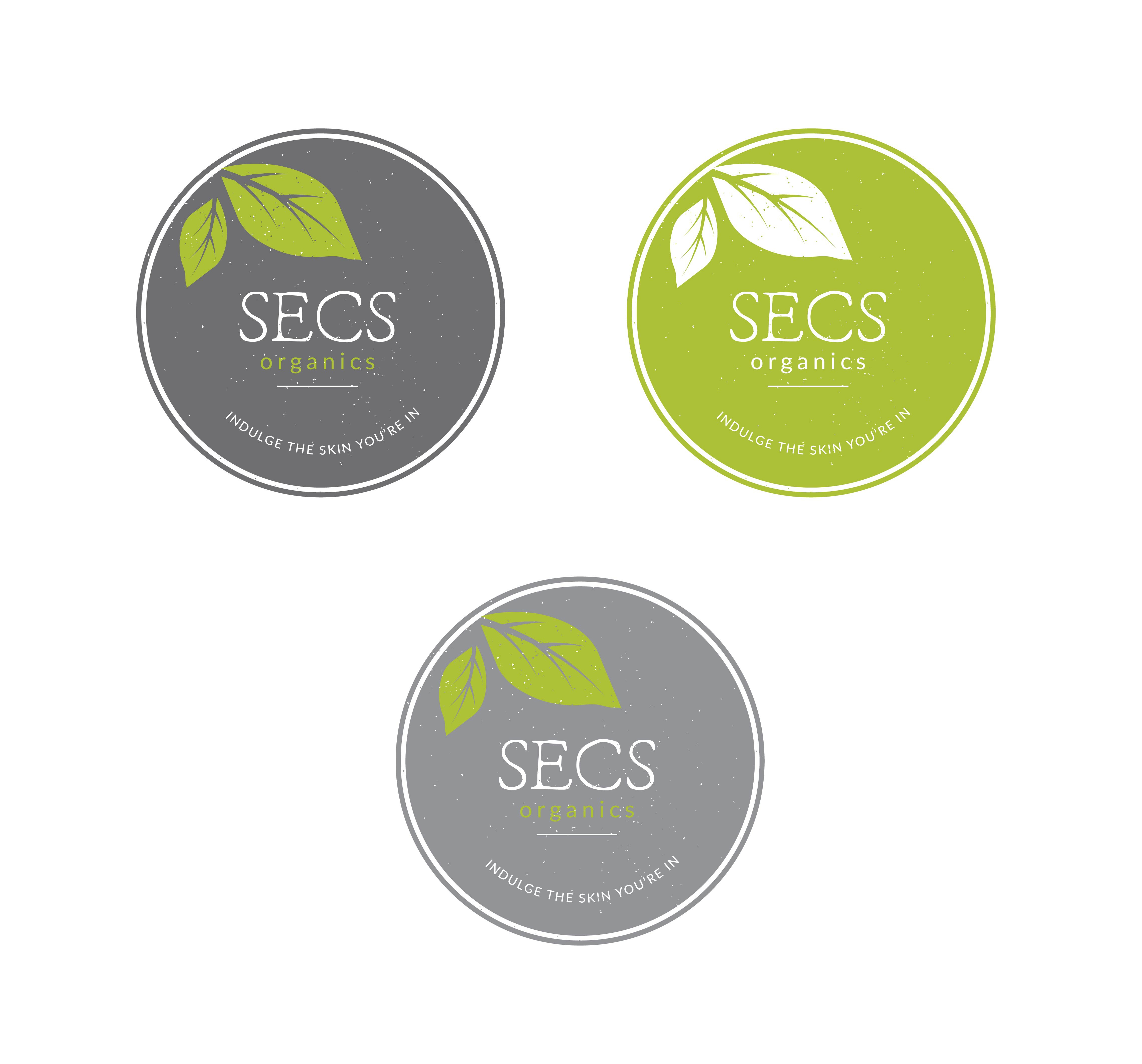 Create a simple yet modern logo for organic cosmetic company