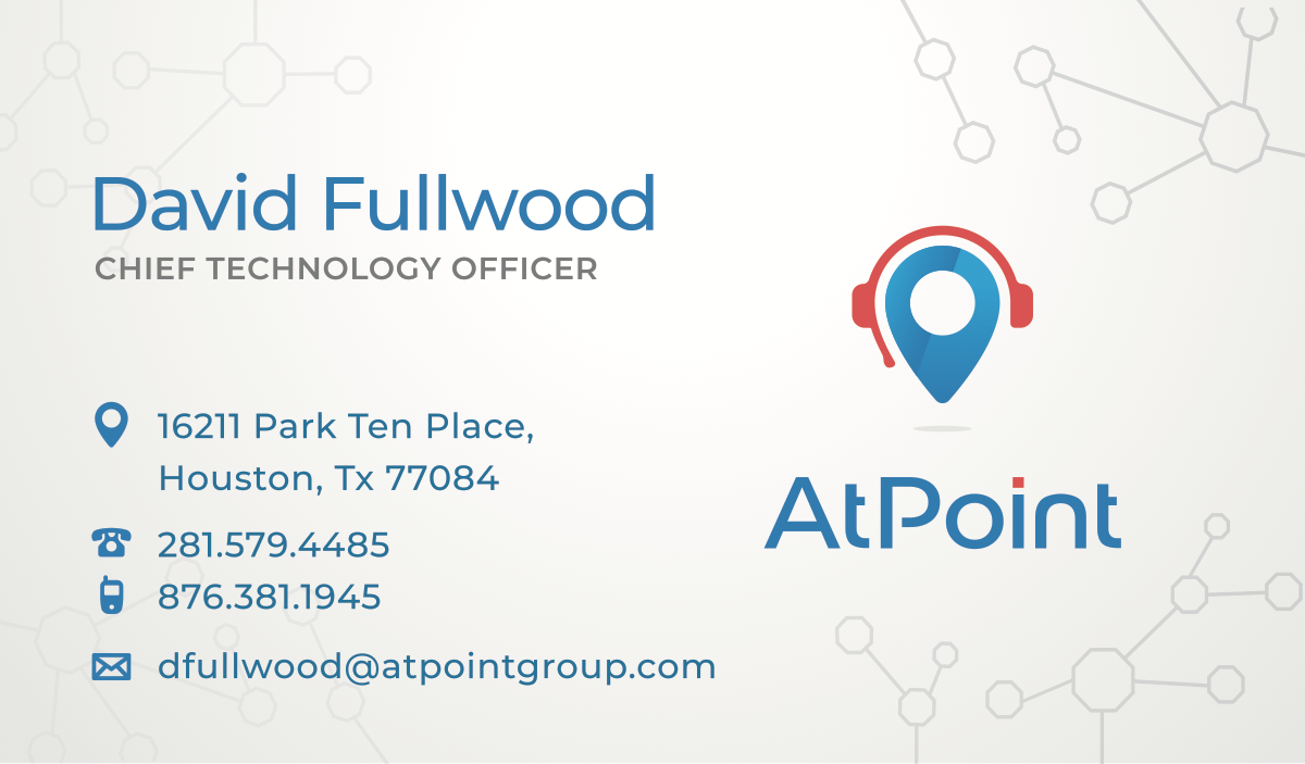 AtPoint Business Card Update