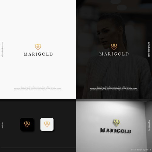 Marigold - A bold logo for a bold company.