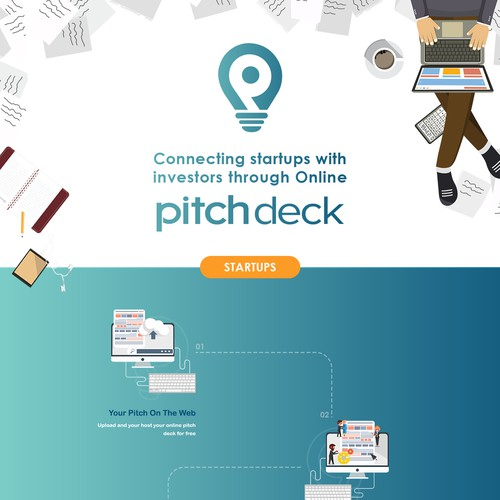 Pitchdeck Landing Page