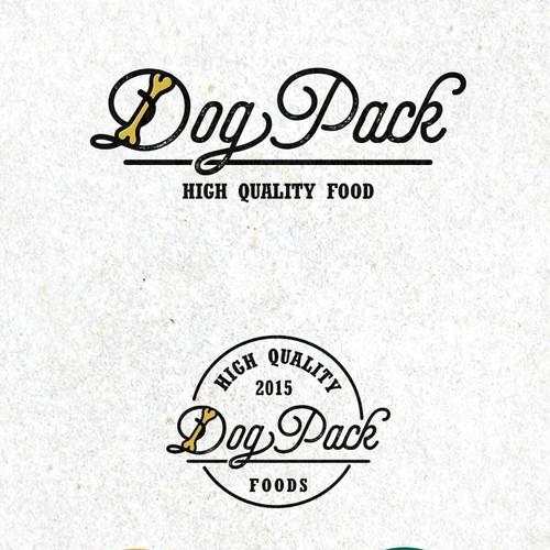 DogPack dog's food logo