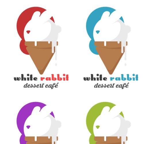 White rabbit - Dessert café