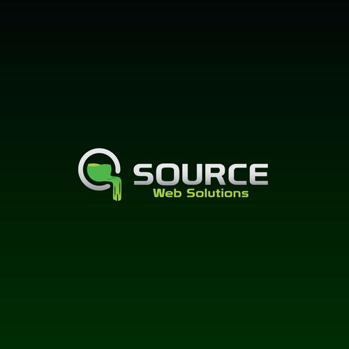 High tech logo for Web Development Company