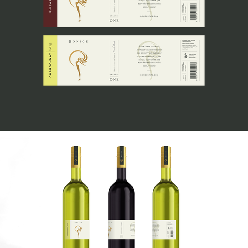 Bonics Wine Labels