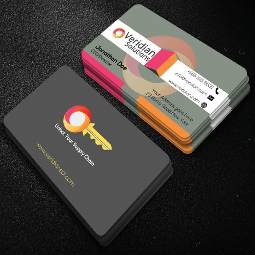 Corporate bussiness card