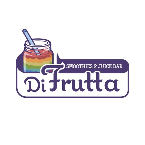 Smoothie Franchise needs a LOGO To REMEMBER! DI FRUTTA