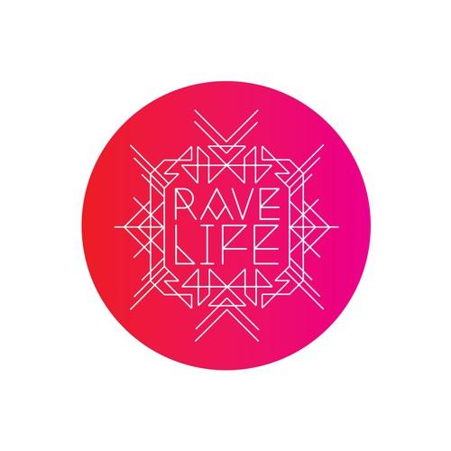Rave Life Logo