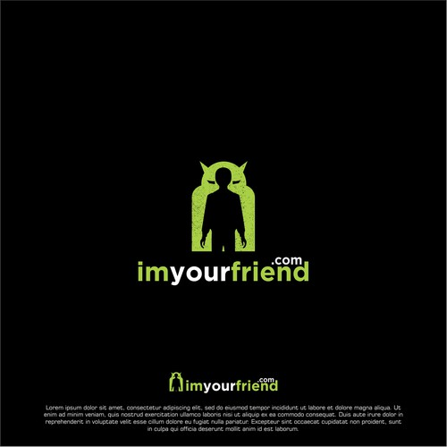 logo concept for imyourfriend
