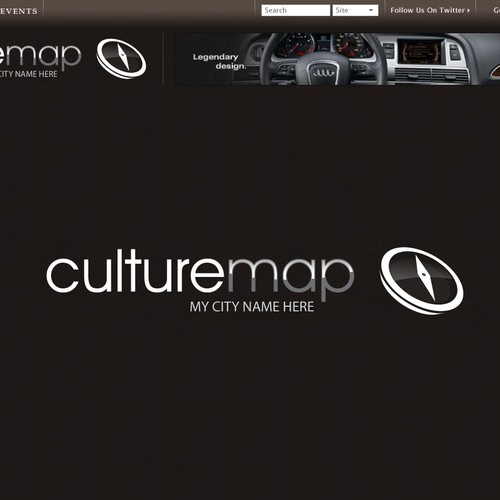 Logo for a Luxury City Guide
