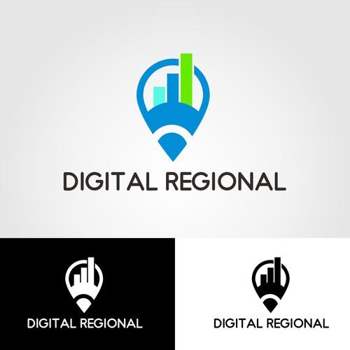 DIGITAL REGIONAL LOGO DESIGN